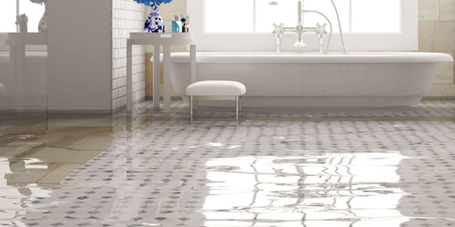 The Bathroom's Flooded – What Can I Do
