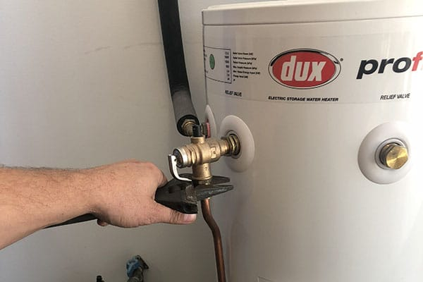 dux hot water systems we service and install
