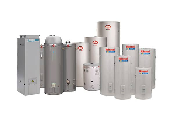 hot water system installation brands and models we install