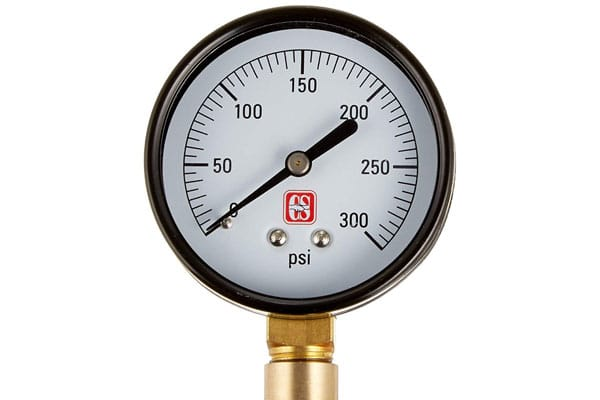 pressure testing and backflow prevention